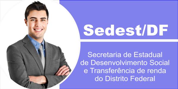 Edital Concurso Sedest DF