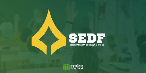 concurso SEDF Convocações