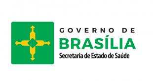 Logo marca da Secretaria de saude do df