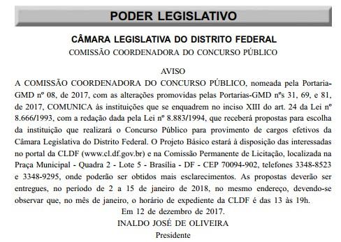 Concurso CLDF