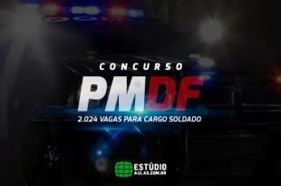 Concurso da PMDF 2018