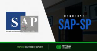 Edital do Concurso SAP SP