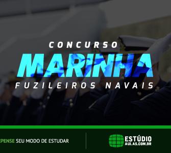 Concurso Marinha Fuzileiros Navais