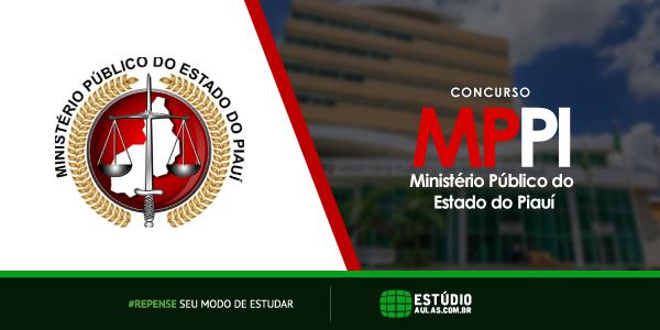Edital Concurso MP PI 2018