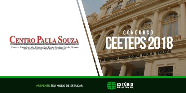 Concurso CEETEPS 2018