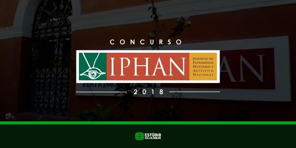 edital Concurso Iphan 2018