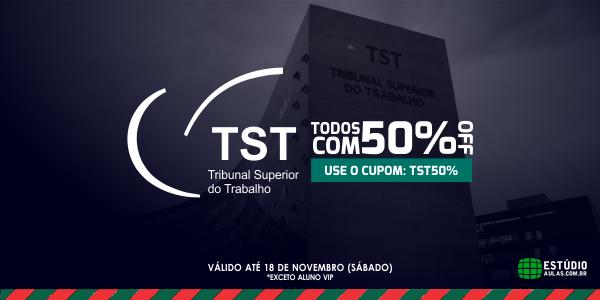 Cursos para o Concurso TST