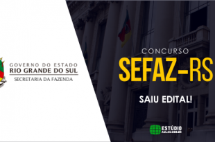 edital do concurso sefaz rs