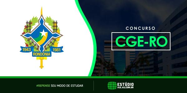 Concurso CGE RO