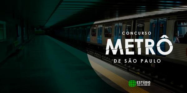 Concurso Metro SP Edital