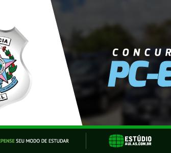 Concurso PC ES 2018 edital