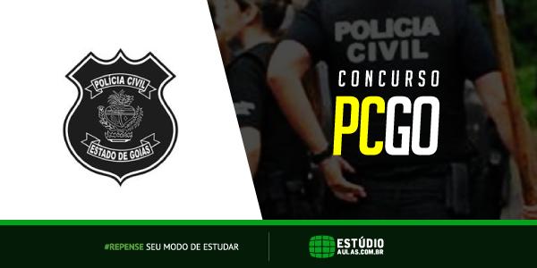 Concurso PC GO Delegado