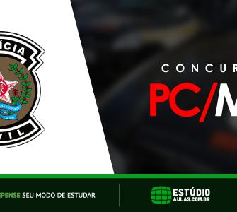 Concurso PC MG Edital